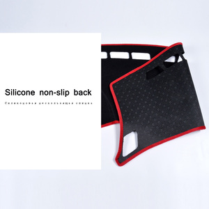 Image 4 - Car Dashboard Avoid light Pad Instrument Platform Desk Carpets For Toyota Corolla 2006 2013 2014 2015 2016 2017 2018 cover Mats
