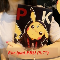 Tablet Case For Apple Ipad Pro 9 7 Air 3 Ipad 7 Pocket Monsters Cute PU