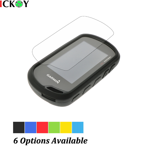 Beschermen Silicon Case + Screen Protector voor Wandelen Handheld GPS Garmin Oregon 600 600 T 650 650 T 700 700 T 750 750 T