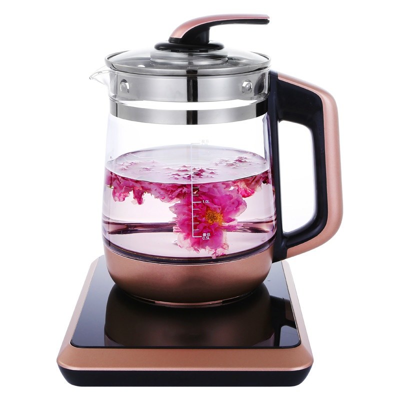 NEW Health pot full automatic thickening glass electric kettle multi-functional tea black decoction new arrived 357g chinese pu erh puer tea health original puerh tea page 2
