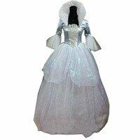 2018 Cinderella godmother Cosplay Costume adult Halloween costumes for women fancy fairy Godmother Costume