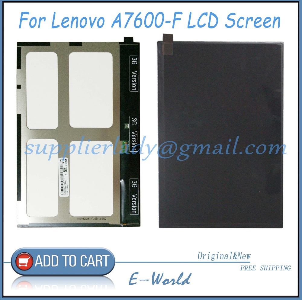 Original and New 10.1inch LCD Screen for Lenovo A7600-F A7600 Tablet PC LCD Display Free Shipping laptop palmrest