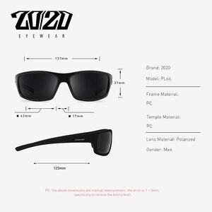 Image 4 - 20/20 Brand Design Vintage Polarized Sunglasses Men Fishing Shades Driving Male Retro Square Sun Glasses Oculos Eyeglasses