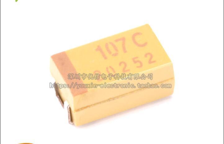 100pcs 10V 33uF 10V Panasonic HA 5x5.4mm SMD Chip type Capacitor