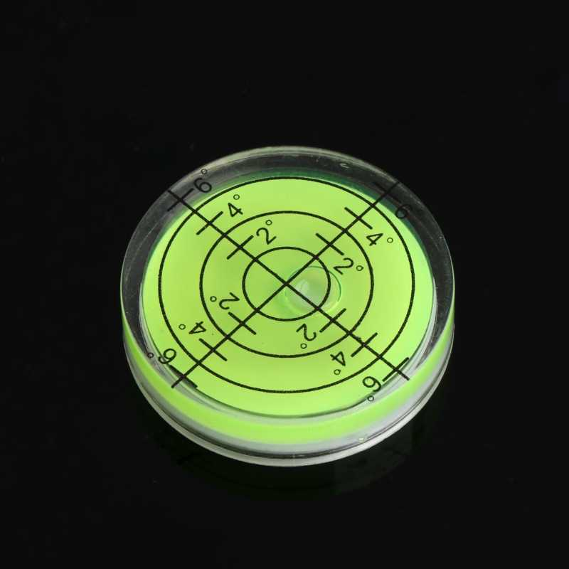 ANENG 32x7mm Bulls-eye Bubble Degree Marked Surface Spirit Level For Camera Circular