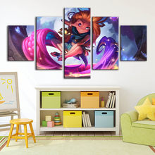 Canvas Poster Painting League Of Legends Game Role Wall Art Prints Modular Pictures Modern Home Decoration For Living Room Frame(China)