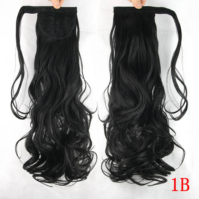 Online Shop Soowee 10 Colors High Temperature Fiber Synthetic Hair Curly  Hairpiece Ponytail Hair Extensions Fake Hair Pony Tail Hair Pieces  3df606984499