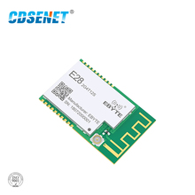 SX1280 UART 12.5dbm LoRa BLE Module 2.4 GHz Wireless Transceiver E28-2G4T12S Long Range BLE rf Transmitter 2.4GHz Receiver ble bluetooth ibeacon technology long range beacon station 210l