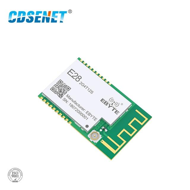 SX1280 UART 12.5dbm LoRa BLE Module 2.4 GHz Wireless Transceiver E28 2G4T12S Long Range BLE rf Transmitter 2.4GHz Receiver