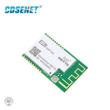 SX1280 UART 12.5dbm Lora BLE โมดูลไร้สาย 2.4 GHz E28 2G4T12S ยาว BLE เครื่องส่งสัญญาณ RF 2.4 GHz