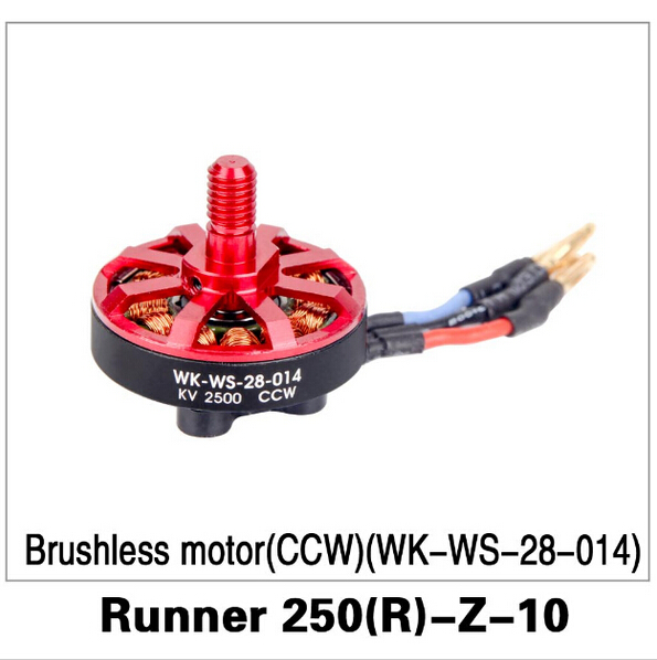 F16491 Walkera Runner 250 Advance drone accessories parts Brushless motor(CCW )(WK-WS-28-014) Runner 250(R)-Z-10 free shipping walkera f210 z 22 racer counter clockwise brushless motor ccw wk ws 28 014a
