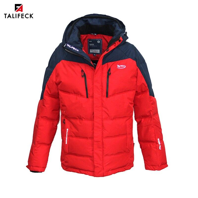 TALIFECK 2019 Nova Venda Quente Dos Homens Jaquetas casaco quente ocasional dos homens jaqueta de cor múltipla Pulverizador-ligado Estofo Emendados frete grátis