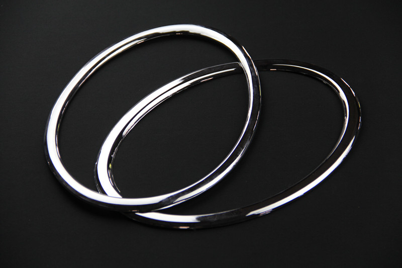 headlight lamp cover ring chrome trim Car Accessories For Nissan juke 2011 2012 2013 2014