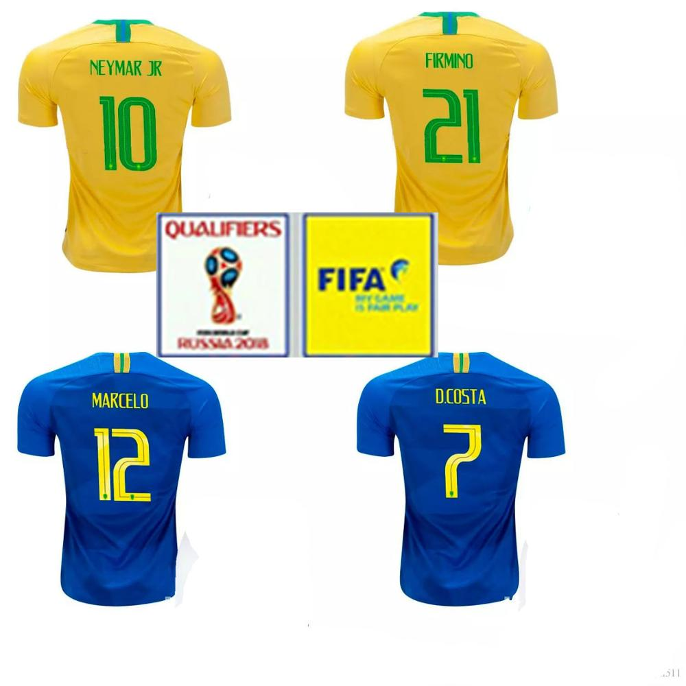 Brazil Soccer Shirt 2018 14520f028