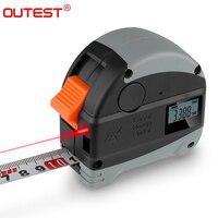 laser distance meter range finder 30M laser tape measure digital retractable 5m laser rangefinder Ruler Survey tool