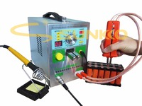 4 IN 1 Welding machine Sunkko709AD+ fixed pulse welding constant temperature soldering Triggered induction spot welding HB 70B