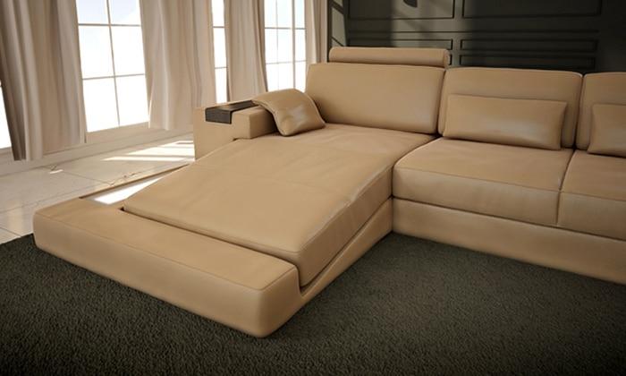 Sofa Jualan Panas Sofa Reka Bentuk Moden Sofa perabot Sofa Sofa Kulit - Perabot - Foto 4