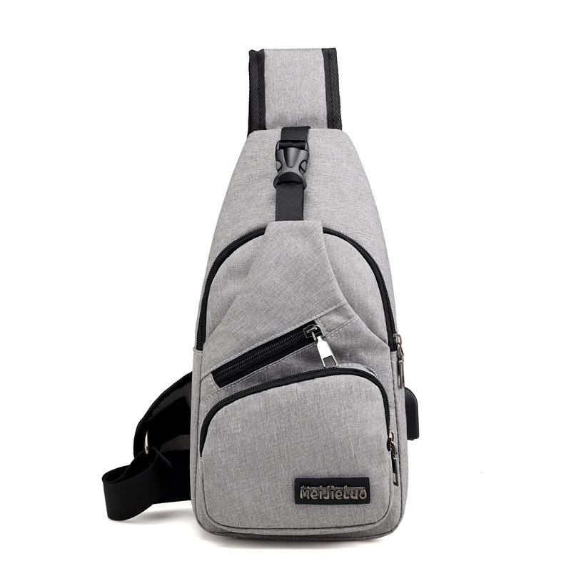 Men's Anti Theft USB Charging Cross body Shoulder Bags 2