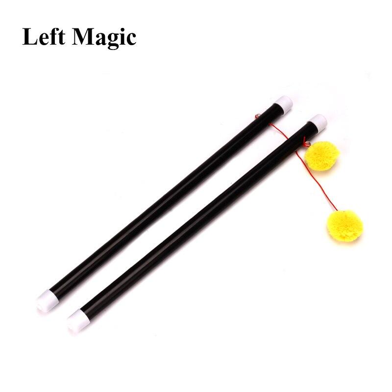 2 Pcs Mandarin Duck Bar Chinese Sticks Magic Tricks Super Kids Children Comedy  Magicien Illusion Magie Toys Props  Accessories