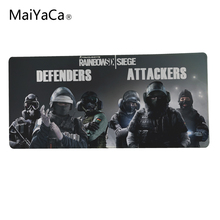 MaiYaCa Mouse Pad to Mouse Notbook Computer Mousepad High quality Gaming Padmouse DOTA Gamer to Laptop Mouse Mat For Rainbow Six