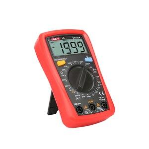 Image 5 - Mini multímetro digital ncv UNI T ut33d +, mini multímetro digital 600v ncv tamanho da palma do tamanho manual ac dc voltímetro e amperímetro, testador de resistência capatitance