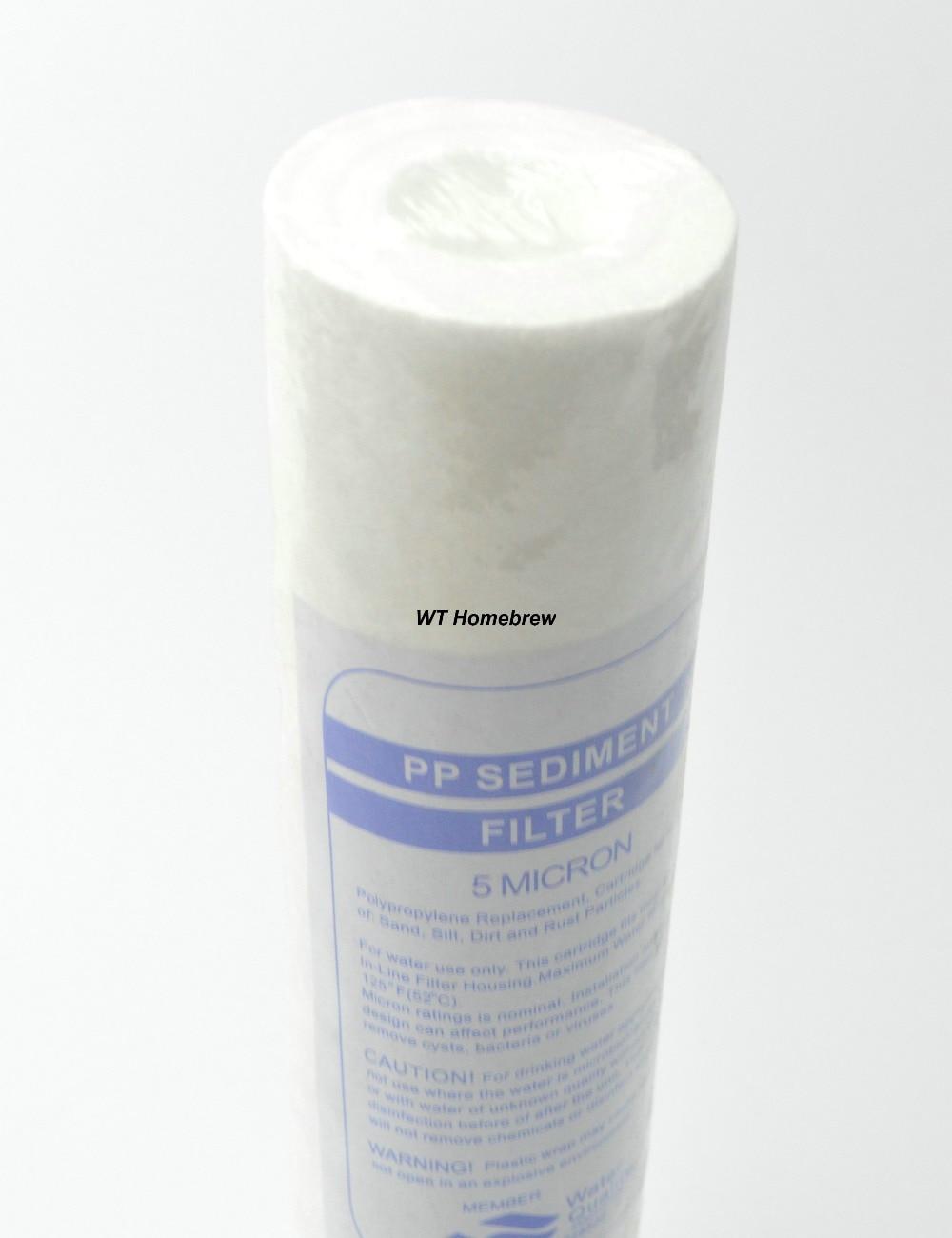 Water Filter Supplies Water Purifier Filter 5 Micron Pp Filter Sediment Water Filter Cartridge Homebrew Filter Supplies Removing Yeastjpg