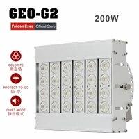 Falcon Eyes 200 Вт Водонепроницаемый гигантский светодиодный свет затемнения непрерывная высокая CRI95 5600 К GEO-G2 для видео этап фильм реклама CD5