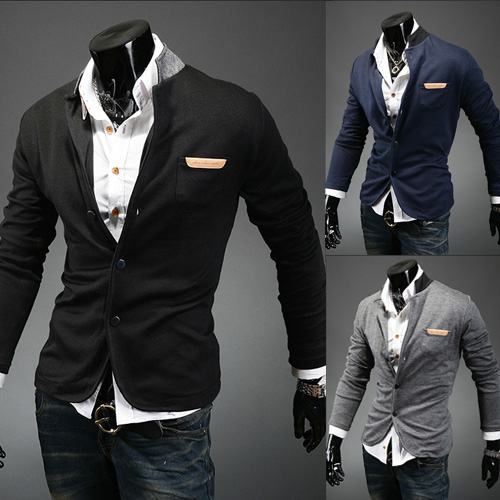 Free Shipping New Men's Vest Single Breasted Knitwear Sweater ...