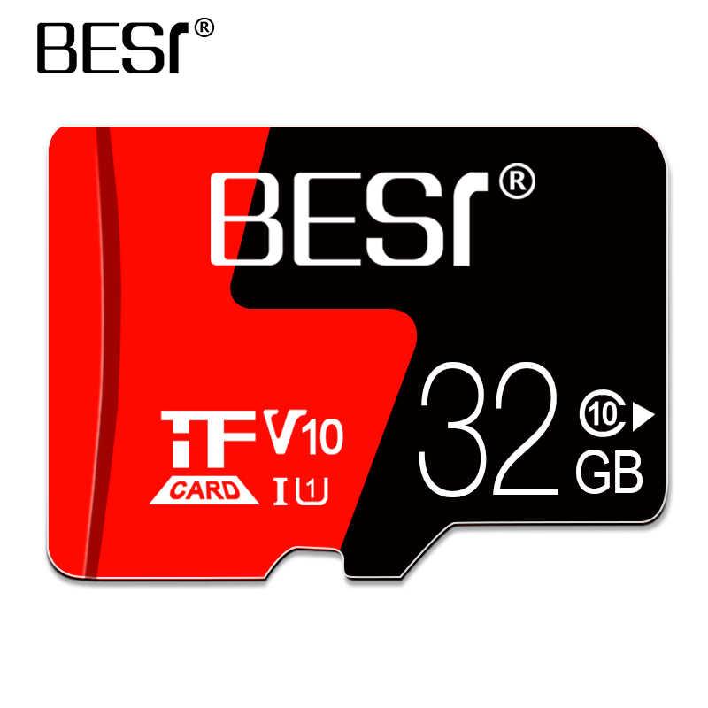 Микро устройство чтения карт памяти SDHC C10 8 Гб оперативной памяти, 16 Гб встроенной памяти, карты flashmemoria флеш-карты памяти TF 32 Гб мини микро SD карты U3 64g 128 ГБ mp 3/4 смарт-устройств телефонов и дронов