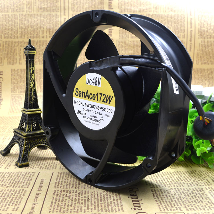 купить Free Delivery. 9 wg5748p5g003 brand new original authentic 17251 fan 48 v 2.91 A frequency converter недорого