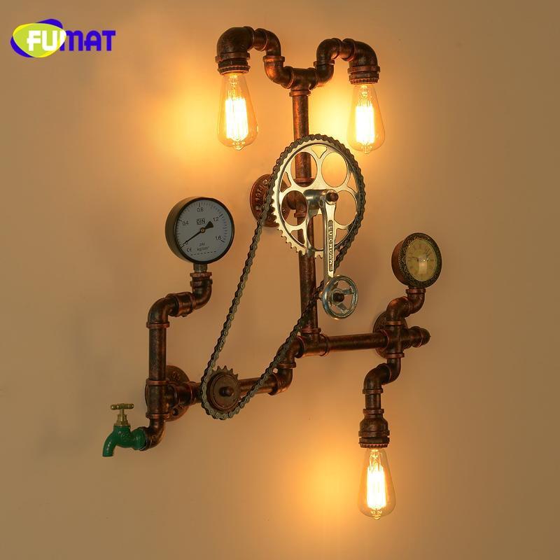 Gear Wall Lamps 2