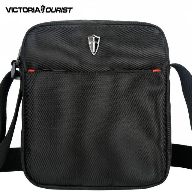 VICTORIATOURIST черный плечо сумки для мужчин/мужчины сумка/мужские сумки через плечо/водонепроницаемый нейлон сумка/5006