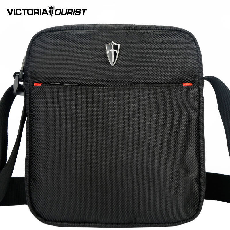 SCOGOLF Black Shoulder Bags For Men Messenger Bags Waterproof Nylon Crossbody Bag Free Shipping 5600