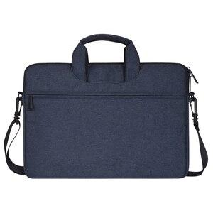 Image 3 - Multi Funktionale Laptop Tasche Sleeve Durchführung Fall mit Gurt für MacBook HP Samsung Acer Asus Dell Lenovo Notebook 13 14 15 zoll