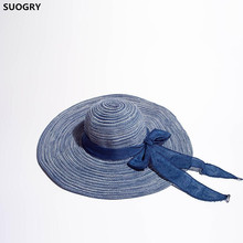SUOGRY Sun Hats For Women Straw Hat Summer Hat Beach Hats For Girls sun hats modis m181a00735 man summer hat for famale beach for male tmallfs