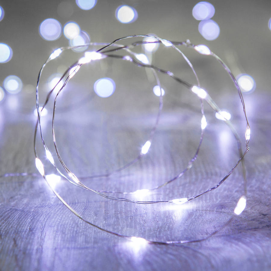 led Micro Fairy Lights Naked Table Copper wire Lights Battery Operated perfect for Party Wedding Home Christmas Decoration