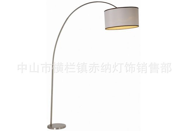 Ikea Living Room Floor Lamp Bedroom Fishing Mahjong Vertical Standing Bedside Simple And