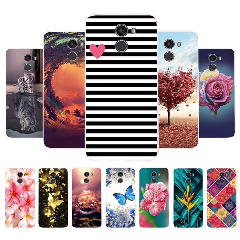 3D DIY Soft Painted Case For Wileyfox Swift 2X Case For Wileyfox Swift 2 X Case Silicon Back Cover Fundas Swift2X Coque Housing