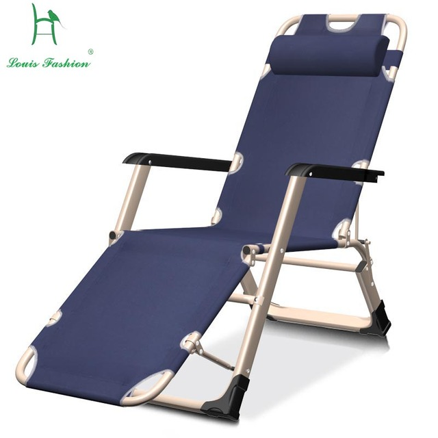 Portable Beach Chair Metal Dining Outdoor Seat Backs Leisure Multifunctional Folding