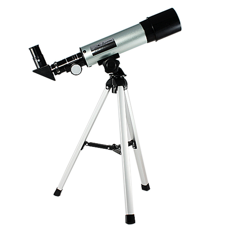 F36050M Outdoor Monocular Refractive Astronomical Telescope With Portable Tripod For beginners Child Astronomic Space image