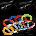 1x5/3 Meter Multicolor Fluorescente Car Decoração de Interiores Moulding Guarnição Faixa Car Styling Flexível Interior Styling AE