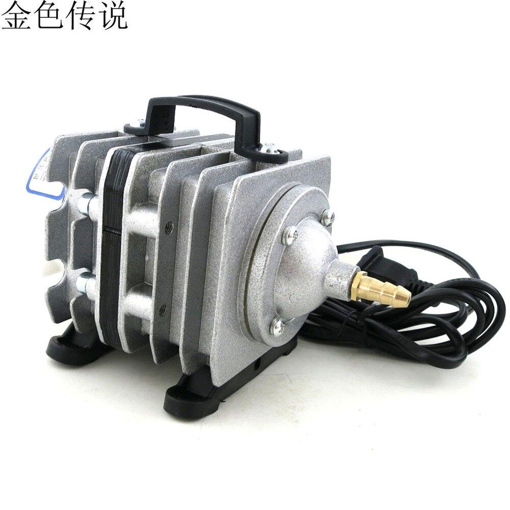 Aquarium fish tank motor - 04 Electromagnetic Oxygen Pump Oxygenation Pump 20w Aerator Aquarium Fish Tank Pump Suction Motor Motor Supplies Diy In Parts Accessories From Toys