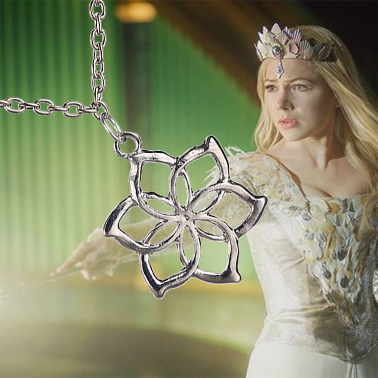 Lotr hobbit royal elven galadriel flower pendant necklace elf in lotr hobbit royal elven galadriel flower pendant necklace elf in chain necklaces from jewelry accessories on aliexpress alibaba group aloadofball Images