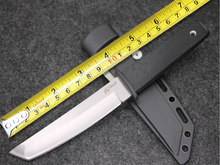 Best Quality Cold Steel Knives AUS 8A Blade Hunting Fixed Knife Survival Tactical Knives Multi Outdoor Camp Tools ABS Sheath