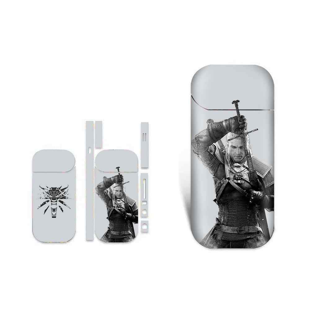 The Witcher 3 Waterproof Protective Vinyl Sticker For IQOS 2.4 Plus 2.4p Skins Removable Adhesive Decorative Decal Sticker