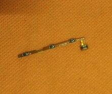 Orijinal Güç Açık Kapalı Düğmesi Ses Tuşu Flex Kablo için Elephone S7 Helio X20 Deca Çekirdek 5.5 FHD Ücretsiz kargo