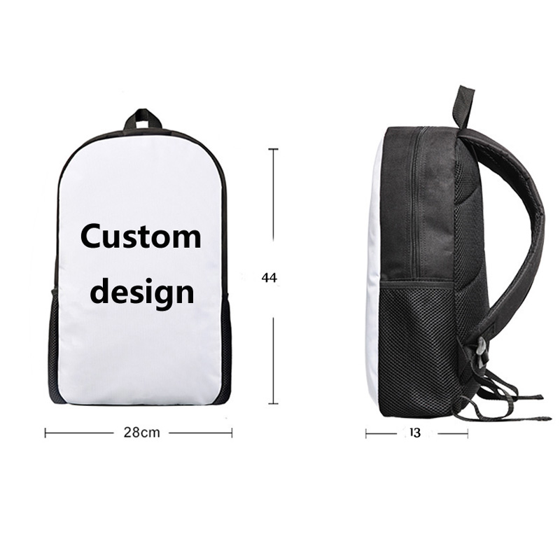 Customized Children School Bags Parrot 3D Printing Kids Backpack Boys Girls Student Primary FOR Notebook Schoolbags Sac Enfant