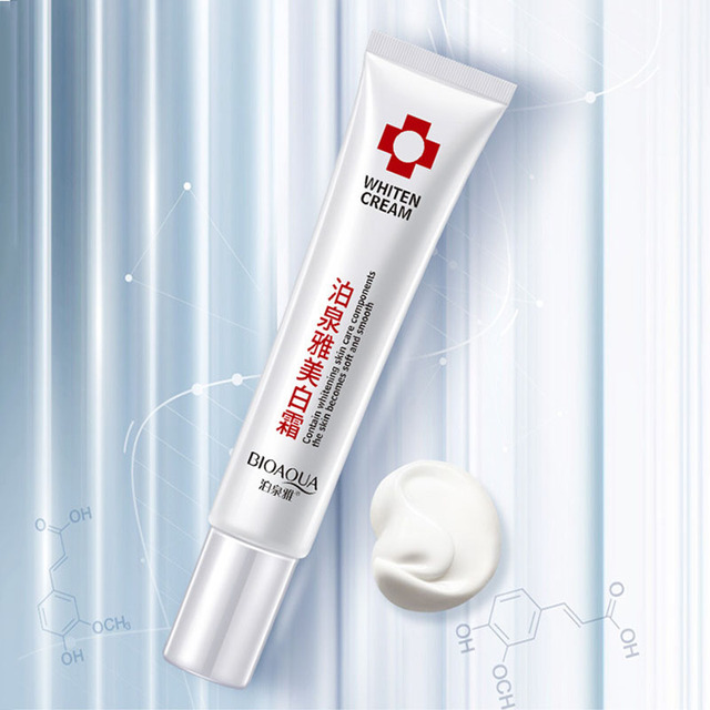 Whitening Face Cream Collagen Anti-Aging Wrinkles Spots Skin Tone Firming Dark Circles Nicotinamid Cream 20g Facial Care