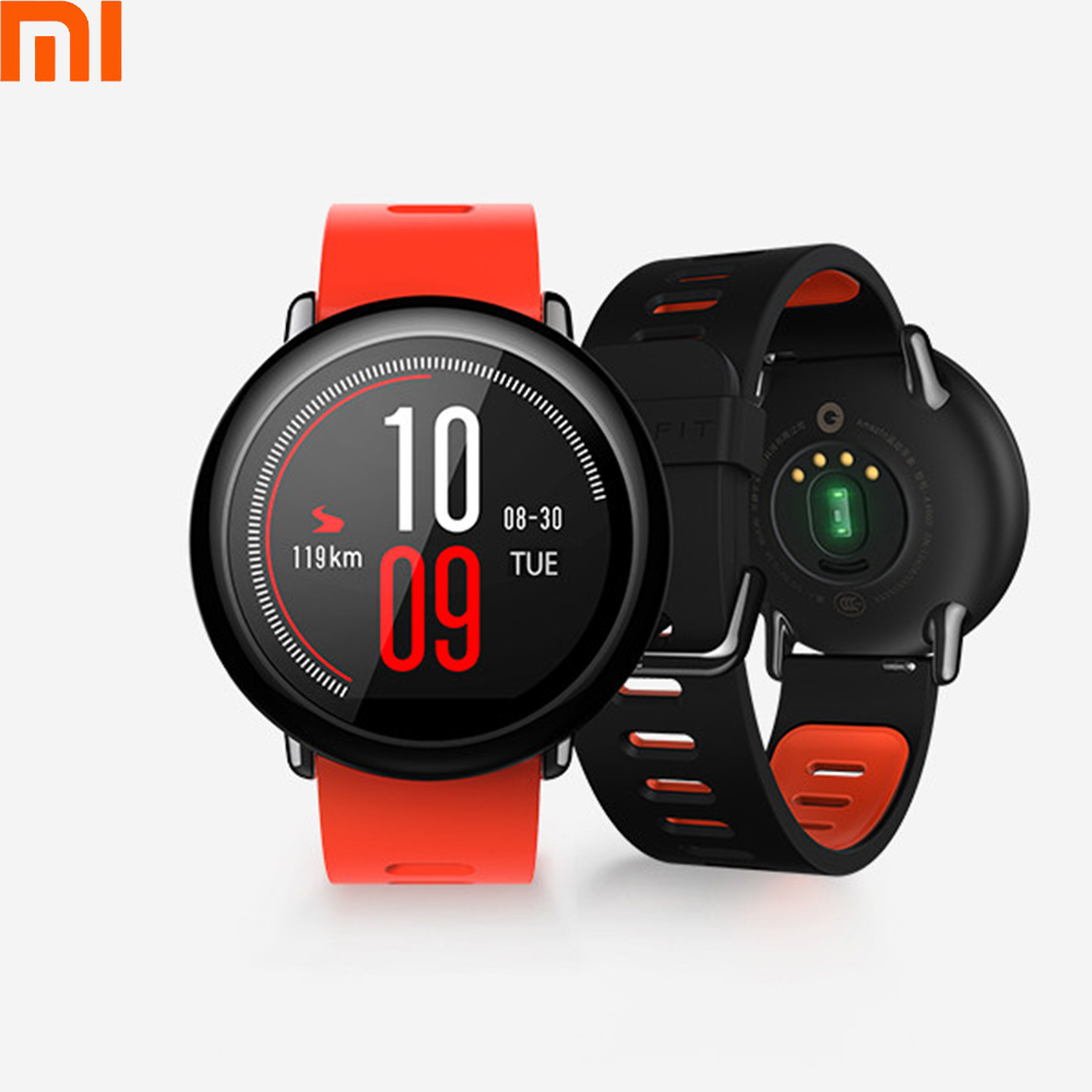 D'origine Xiaomi Anglais Version Huami AMAZFIT Rythme GPS Montre Smart Watch Avec Moniteur de Fréquence Cardiaque Smartwatch Sommeil Tracker Pour Xiaomi 6