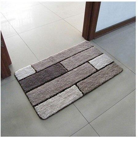 frais de port gratuit grille du commerce de bande tapis tapis porte chambre moderne motif 50 cm 80 cm